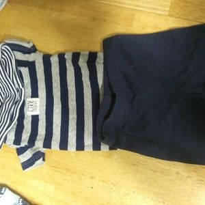 Size 0 to 3 months boys outfit